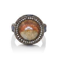 Sevan Biçakci - Multicolor Pearl & Clam Shell Intaglio Ring - Lyst