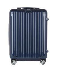 Rimowa Blue Salsa Deluxe 22 Cabin Multiwheel® Iata Trolley for men