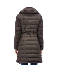 Moncler Multicolor Flammette Hooded Down Coat
