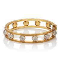 Cathy Waterman - Metallic Pearl & Diamond Bangle - Lyst