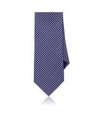 Piattelli - Blue Neat Silk Faille Necktie for Men - Lyst
