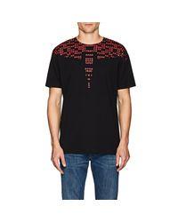 Marcelo Burlon - Black Numbers-print Crewneck T-shirt for Men - Lyst