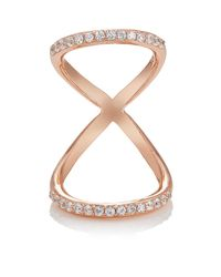 Fallon - Multicolor Infinity Ring - Lyst