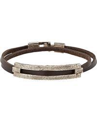 Zadeh - Brown Tamar Wrap Bracelet - Lyst
