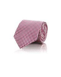 Ermenegildo Zegna - Red Dot Jacquard Necktie for Men - Lyst