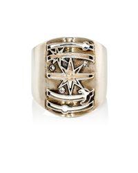 Pamela Love | Metallic Galaxy Ring | Lyst