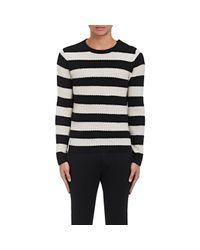 Zadig & Voltaire | Black Artico Pointelle C Striped Cashmere Sweater | Lyst