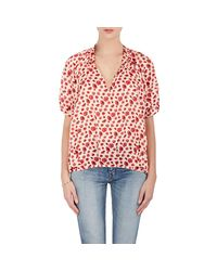 Rhié - Red Floral Cotton - Lyst