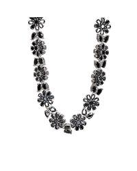 Fallon - Multicolor Monarch Florette Necklace - Lyst