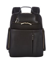 Barneys New York - Black Saffiano Leather for Men - Lyst