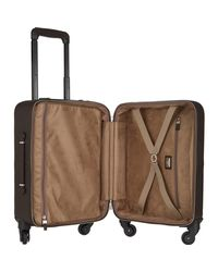 Serapian Brown Cachemire 18 Carry-on Trolley for men