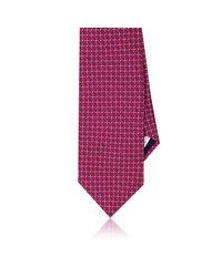 Piattelli - Pink Neat Silk Foulard Necktie for Men - Lyst