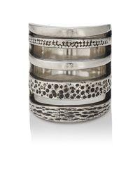 Pamela Love - Metallic Sterling Silver Cage Ring - Lyst