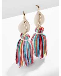 BaubleBar Multicolor Tahiti Tassel Earrings