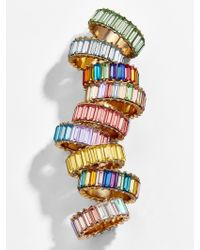 BaubleBar Multicolor Alidia Ring-size 7