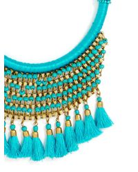 BaubleBar - Blue Koya Necklace - Lyst