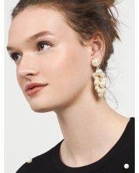 BaubleBar - Multicolor Cluster Pearl Drop Earrings - Lyst