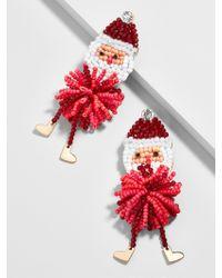 BaubleBar Red Claus Drop Earrings