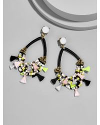 BaubleBar - Multicolor Merengue Hoop Earrings-blush - Lyst