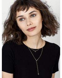 BaubleBar - Black Sofia Everyday Fine Layered Necklace - Lyst