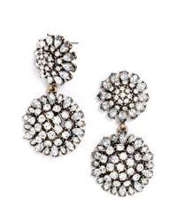 BaubleBar - White Crystal Dandelion Drops - Lyst