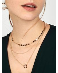 BaubleBar Multicolor Adrielle Layered Necklace