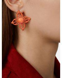 BaubleBar - Multicolor Sierra Raffia Stud Earrings - Lyst