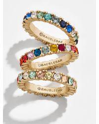 BaubleBar Metallic Alette Ring