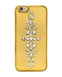 BaubleBar - Yellow Alison Cover Up Iphone 6/6s Case - Lyst
