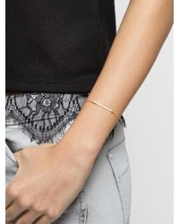BaubleBar | Metallic Ice Slim Bar Bracelet | Lyst