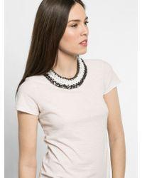 BaubleBar Black Triple Chain Collar