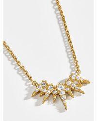 BaubleBar Metallic Forra 18k Gold Vermeil Pendant Necklace