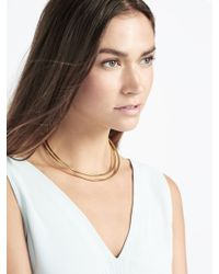 BaubleBar | Metallic Saturn Collar | Lyst