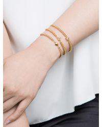 BaubleBar - Metallic Emoticharm Bracelet - Lyst