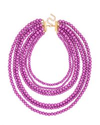 BaubleBar | Purple Bold Beaded Strands | Lyst