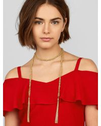 BaubleBar - Multicolor Laurena Statement Necklace - Lyst
