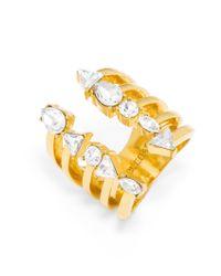 BaubleBar | Metallic Goldrush Ring | Lyst