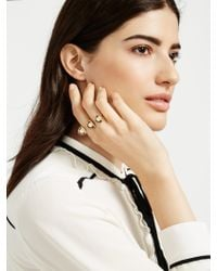 BaubleBar - Yellow Oyster Ring - Lyst