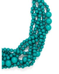 BaubleBar Blue Bubblestream Collar