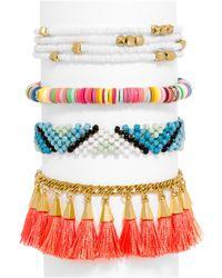 BaubleBar - Multicolor Cancãºn Bracelet Quad - Lyst