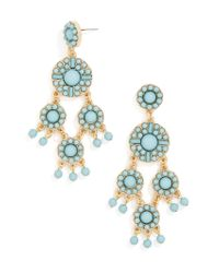 BaubleBar - White Sundrop Drops - Lyst
