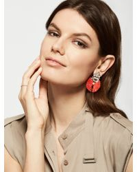 BaubleBar | Red Flamenco Drops | Lyst