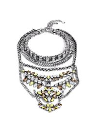 BaubleBar | Yellow Morgause Warrior Bib | Lyst