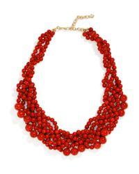 BaubleBar - Red Bubblestream Collar - Lyst