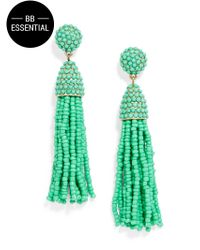 BaubleBar | Green Piñata Tassel Drops | Lyst