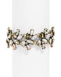 BaubleBar - Multicolor Ophelia Crystal Cuff - Lyst