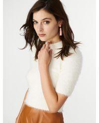 BaubleBar - White Mini Piñata Tassel Earrings - Lyst