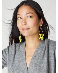 BaubleBar | Yellow Solange Pom Pom Earrings | Lyst
