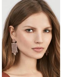 BaubleBar | Pink Disco Drop Earrings | Lyst