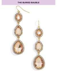 BaubleBar | Metallic Frances Drop Earrings | Lyst